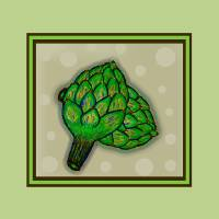 Artichokes Anyone? Art Prints & Posters by Perlyyyy's Studio