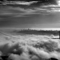 San Francisco in the Fog Art Prints & Posters by Rob Kroenert