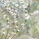 """""""Pear Blossoms II"""" by HerbDickinson"""