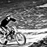 """Motoring The Hills"" by karolsstuff"