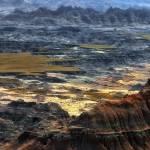 """High Plains of Badlands"" by merttu"
