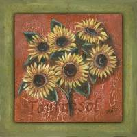 Tournesol Art Prints & Posters by Debbie DeWitt