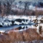 """Snow Creek in Colorado"" by merttu"