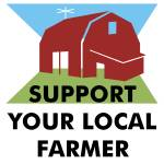 """Support Your Local Farmer"" by maryostudio"