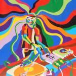 """The DJ"" by scrollsawdave"