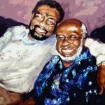"""William Bell and Rufus Thomas Memphis Soul Music"" by GinetteCallaway"