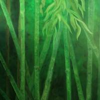 Bamboo Madness Art Prints & Posters by Liz Pritchett