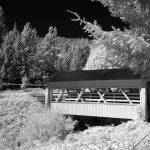 """Sandy Creek Covered Bridge 2"" by kendietz"