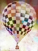 Hot Air Balloon  Checkered 6