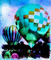 Hot Air Balloons with Two 6