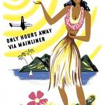 """Hawaii Travel Poster 2"" by jvorzimmer"
