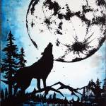 """Moon Wolf"" by angeldamico"
