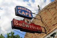 Route 66 - Ariston Cafe Neon