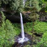 """Oregon Waterfall Panorama"" by pbk"