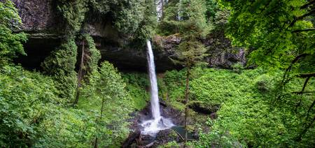 Oregon Waterfall Panorama