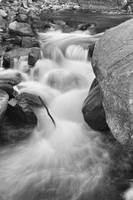 Colorado St Vrain River Trance BW