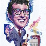 """Buddy Holly"" by garthglazier"