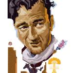 "John Wayne" by garthglazier