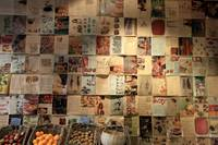 The newspaper wall