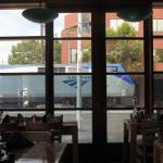 """""""Train Watching and Sushi"""" by Laurence"""