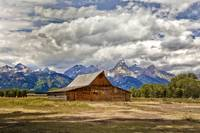 The T. A. Moulton Barn in Grand Teton National Par