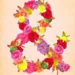 """Flower Ampersand"" by sweetblue"