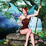 """Butterfly Fairy"" by AlexButler"