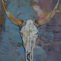 """Steer Skull"" by creese"
