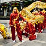 """Dragon Dancers, Shanghai, China"" by BonVivantPhotography"