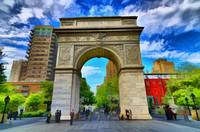 Washington Square Arch in Greenwich Village