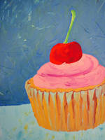 Cupcake and Brownie in Love - detail