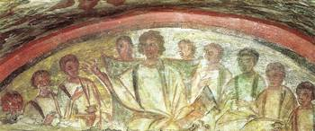 Christ Teaching the Apostles 300 A.D.