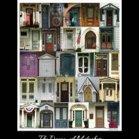 The Doors of Metuchen Art Prints & Posters by Louise Reeves