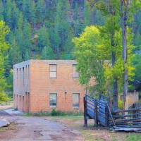 Mining Building Art Prints & Posters by Gayle Pierucci