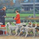 """Blessing the Hounds"" by claudebuckleyfineart"