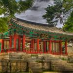 """Pavillon at Gyeongbokgung Palace, South Korea"" by kingafoto"