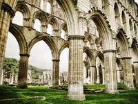 Cloisters of Rievaulx Abbey