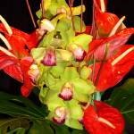 """Exotic Floral Arrangement"" by budo"
