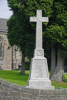 War Memorial in St Mary's Churchyard, Crich