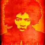 """Jimi Hendrix 1"" by jvorzimmer"