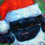 """Santa Dog"" by DebraBryant"