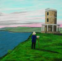 Painting the Clavell Tower