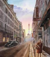 Rue Saint Dominique Paris France