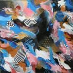 """""""Cosmic Blue"""" by SUSANCROCKERGALLERY"""