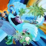 """Relaxing Along the Coast"" by SUSANCROCKERGALLERY"