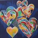 """A Family of Six"" by SUSANCROCKERGALLERY"