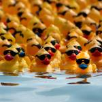 """DUCK RACE"" by tmckinleyphotography"