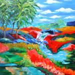 """Song of the Islands"" by SUSANCROCKERGALLERY"