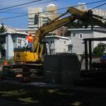 """""""Construction on Yesler"""" by YouthinFocus"""