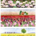 """Crimson hydrangea sunflowers"" by studiobythesound"